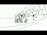 Три немецких богатыря (1-6 серии из 6) [2012, Мультфильм, прикол